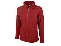 Куртка флисовая Seattle женская, красный