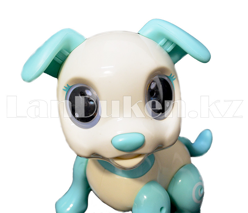 Игрушка робот-собака на батарейках говорящая светящаяся радиоуправляемая B177010 - фото 4