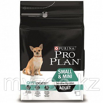 Pro Plan Adult Small &Mini Sensitive Digestion, Про План для собак мелких пород 7кг