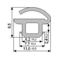 Уплотнитель для стекла ТПУ-002 ТАТПРОФ