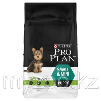 Pro Plan Puppy Small&Mini, Про План для щенков мелких пород с курицей, 7кг.