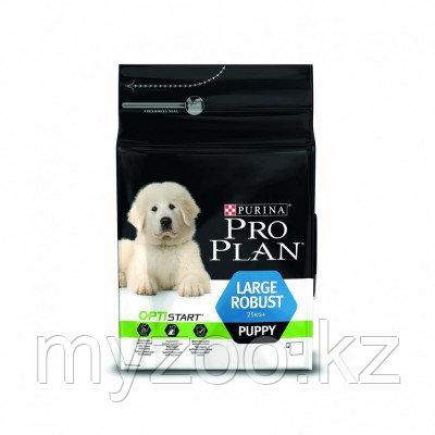 Pro Plan Puppy Large Robust, Про План корм для щенков крупных пород, курицарис, уп. 12кг.