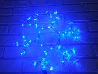 """Новогодняя светодиодная фигура """"Снежинка"""" - 40 х 40 см (дюралайт, синий цвет )"""