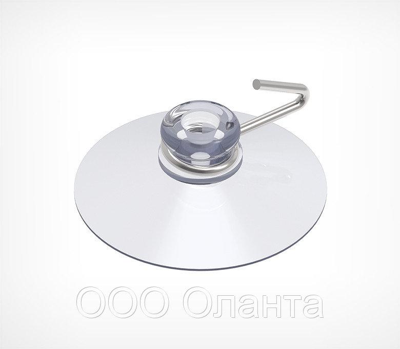 Силиконовая присоска с металлическим крючком (D=30 мм) SC-MH арт.790018