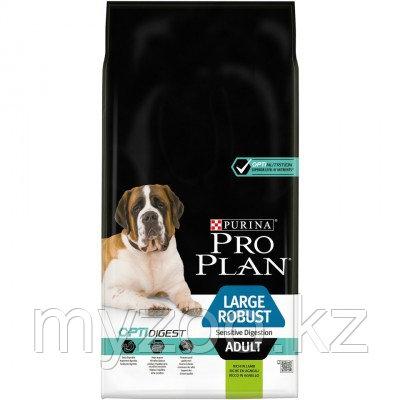 Про План для собак крупных пород ягненок, 14 кг |Pro Plan Adult Large Robust Sensitive Digestion|
