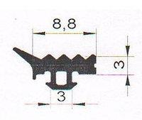 Уплотнитель для стекла ТПУ-45.01 ТАТПРОФ