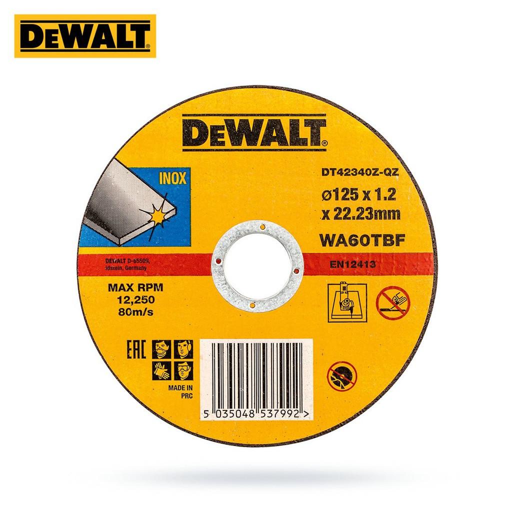 Диск отрезной по металлу 125x22.2х1.2мм DeWalt DT42340Z