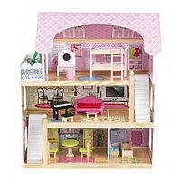 Кукольный дом с мебелью (70см) EF4110 (Edufun, Великобритания), фото 1