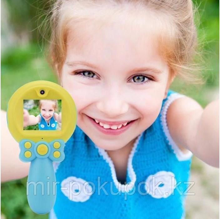Детский фотоаппарат Magic wand с селфи камерой Волшебная палочка X3 (голубоц и розовый))