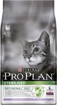 Pro Plan Sterilised Turkey, Про План для стерилизованных кошек с индейкой, уп. 1,5кг.