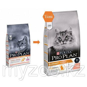 Pro Plan Derma Plus, Про План Дэрма Плюс с лососем для взрослых кошек с кожной аллергией, уп. 1,5кг.