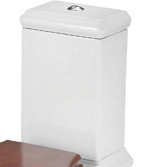 CREO Смывной бачок  с двойным смыванием белый DI1003