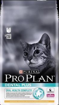 Pro Plan Dental Plus с курицей, уп. 10 кг. | Про План корм для кошек |. Вес