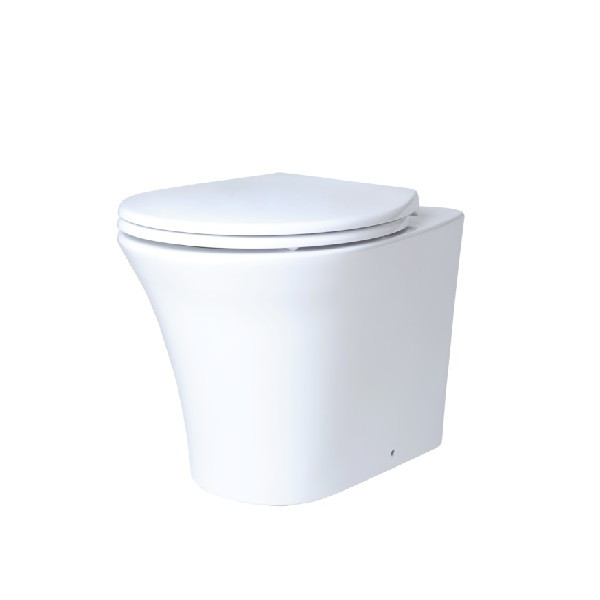 CREO Унитаз приставной  нано белый PA1200