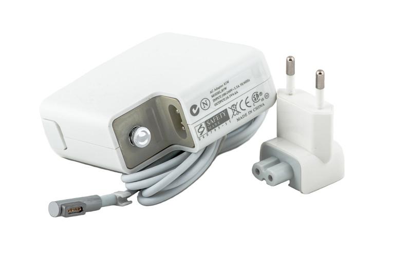 Блок питания для ноутбуков PowerPlant APPLE 220V, 18.5V 85W 4.6A (Magnet tip)
