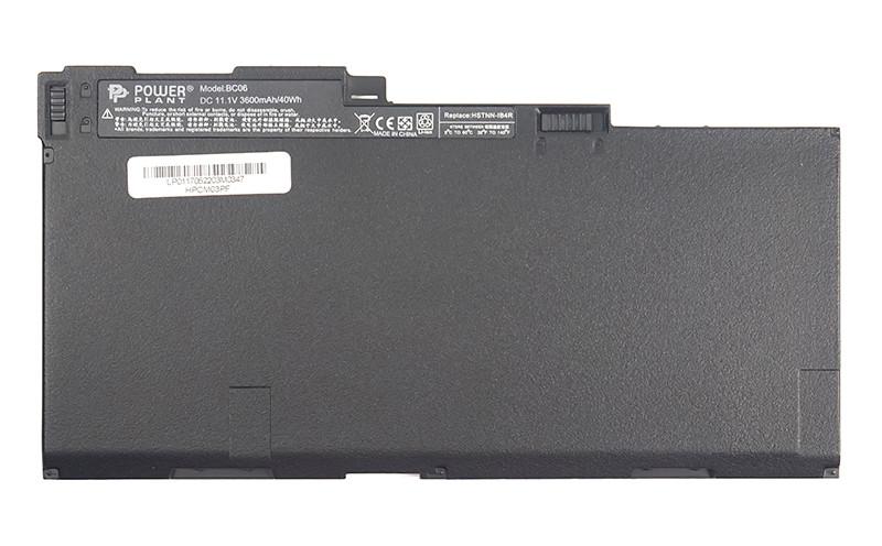 Аккумулятор PowerPlant для ноутбуков HP EliteBook 740 Series (CM03, HPCM03PF) 11.1V 3600mAh