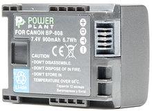 Аккумулятор PowerPlant Canon BP-808 Chip 900mAh