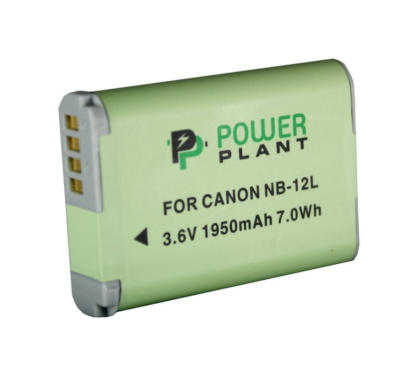 Аккумулятор PowerPlant Canon NB-12L 1950mAh