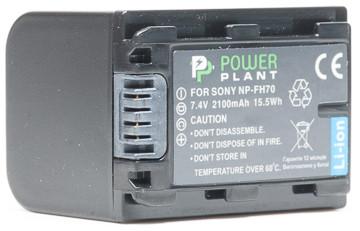 Aккумулятор PowerPlant Sony NP-FH70 2100mAh