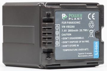 Аккумулятор PowerPlant Panasonic VW-VBG260 Chip 2800mAh
