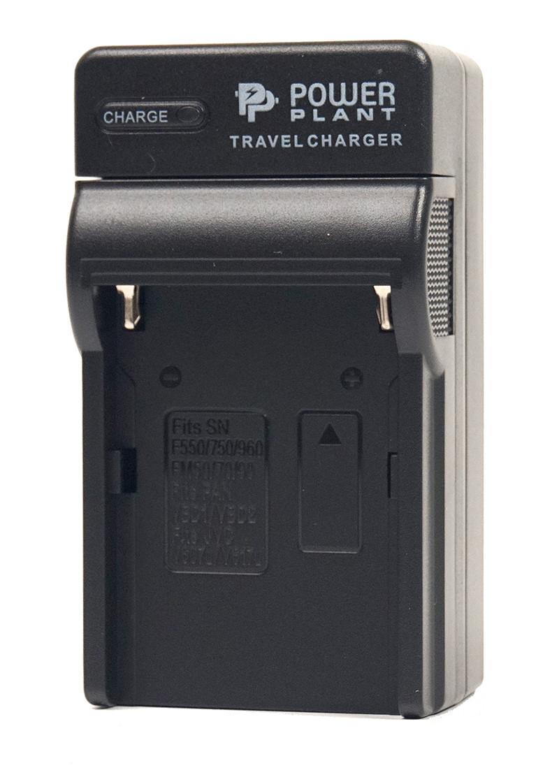 Зарядное устройство PowerPlant Sony NP-FM50,  NP-FM90, NP-F550, NP-F750, NP-F960, VBD1, V615, VM-BP1