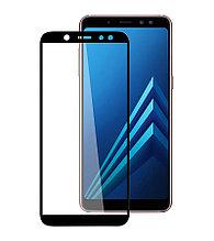 Защитное стекло Full screen PowerPlant для Samsung Galaxy A6+ (SM-A605) Black