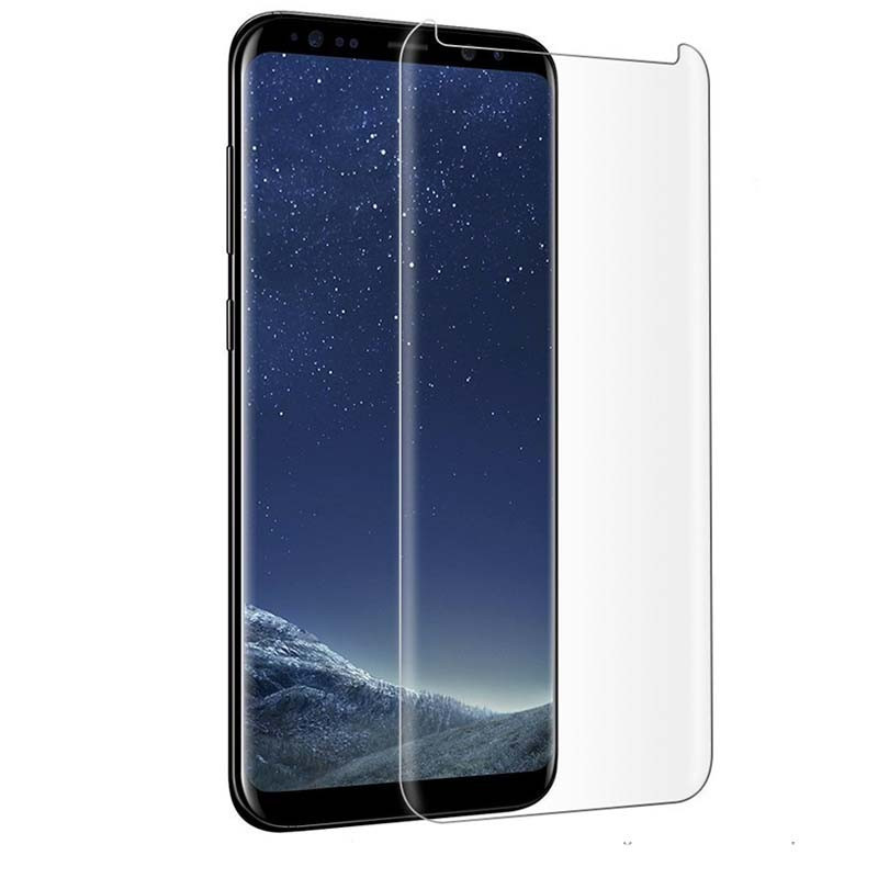 Защитное стекло PowerPlant для Samsung Galaxy Note 9 (жидкий клей + УФ лампа)