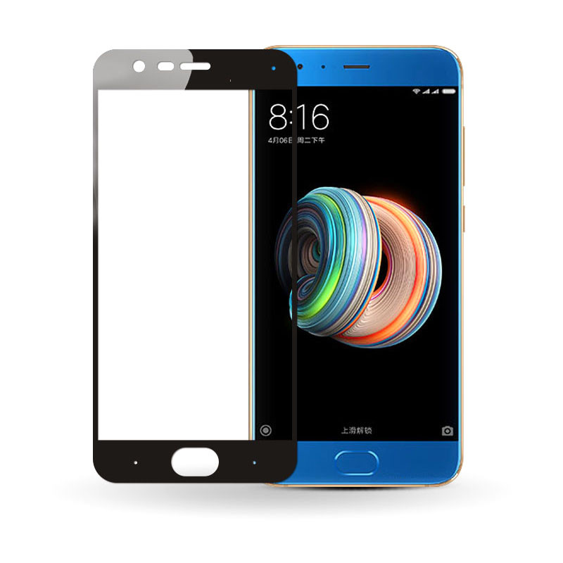 Защитное стекло Full screen PowerPlant для Xiaomi Mi Note 3, Black