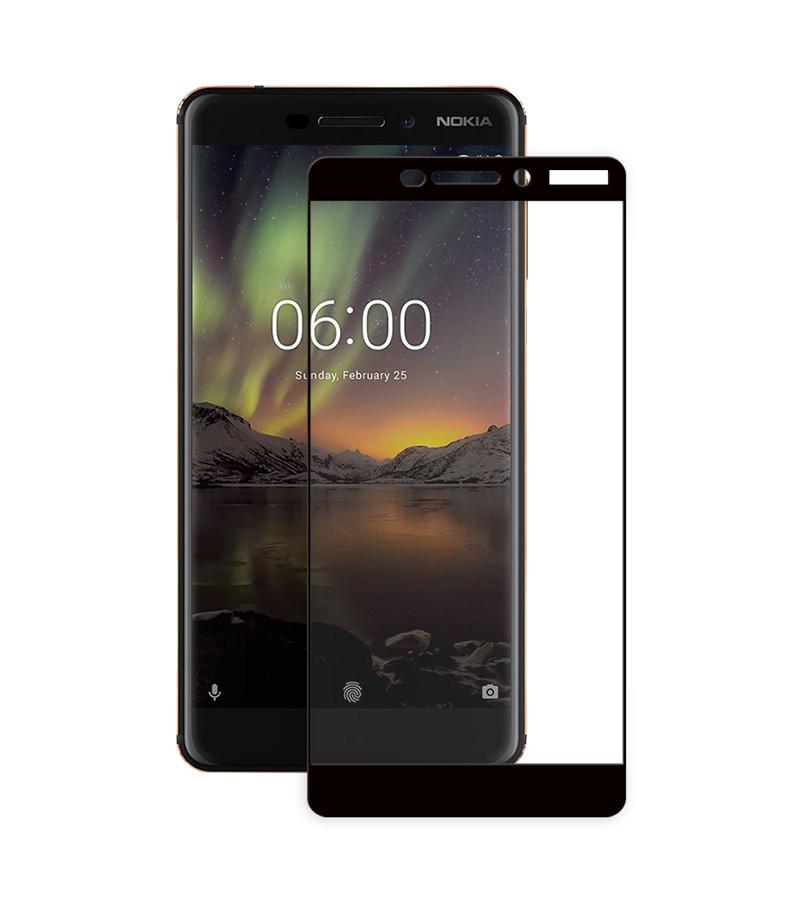 Защитное стекло Full screen PowerPlant для Nokia 6.1
