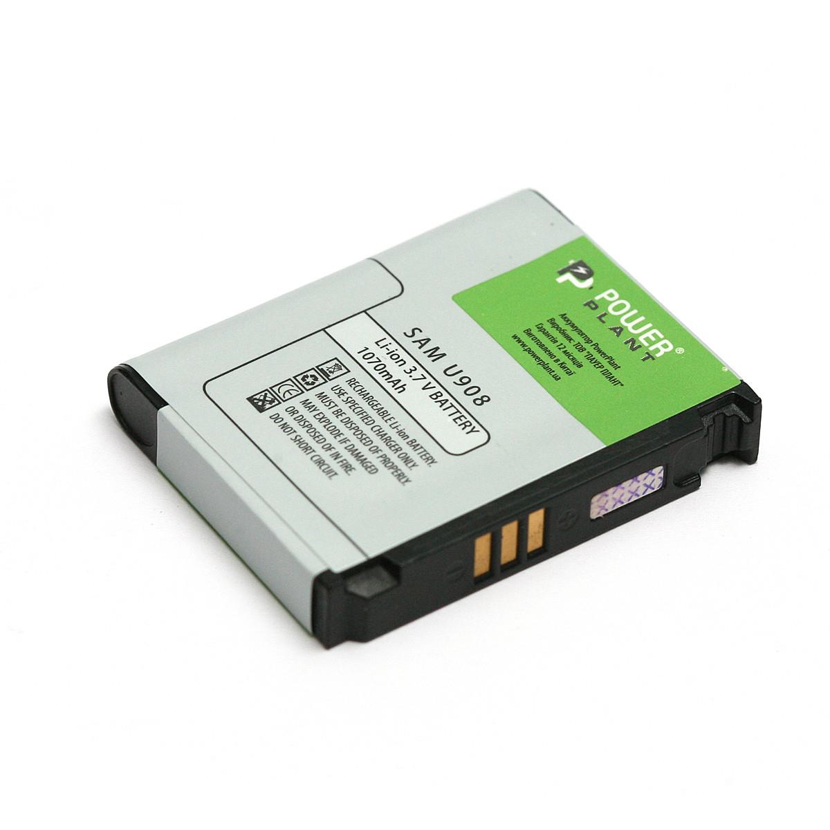 Аккумулятор PowerPlant Samsung U908 (AB653039CE) 1070mAh