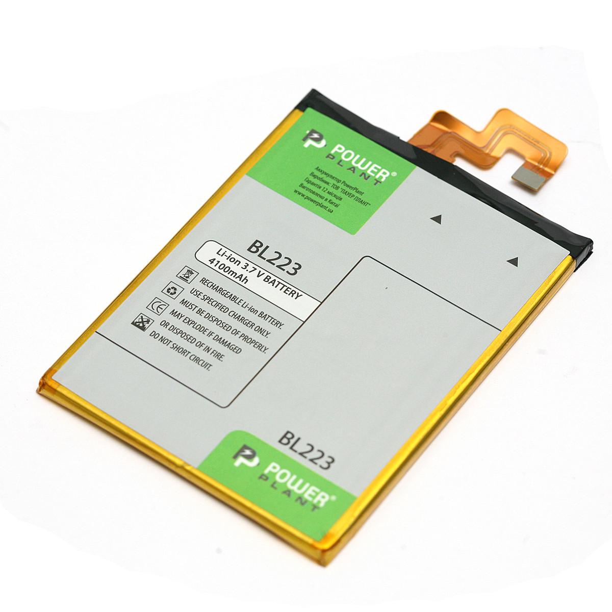 Аккумулятор PowerPlant Lenovo K920 (BL223) 4100mAh