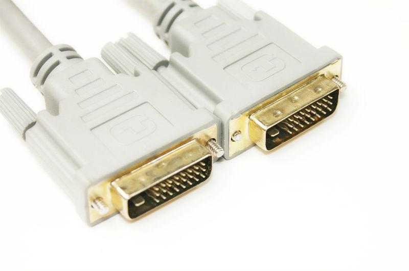 Видео кабель PowerPlant DVI-D 24M-24M, 1.5m, Double ferrites