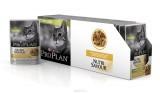 Pro Plan NutriSavour Sterilised, для стерилизованных для кошек с курицей в соусе, уп.24*пауч 85гр.