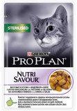 Pro Plan NutriSavour Sterilised, для стерилизованных для кошек с индейкой в желе, уп.24*пауч 85гр., фото 2