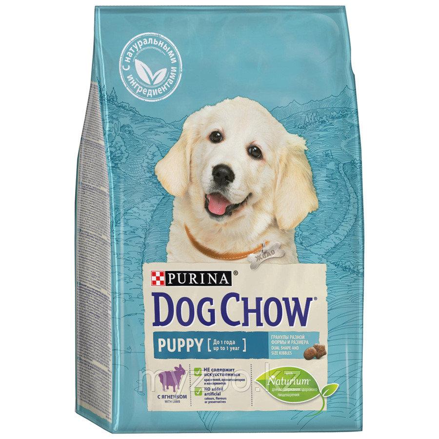 Dog Chow Puppy Lamb&Rice, Дог Чау корм для щенков с ягненком, уп. 2.5кг