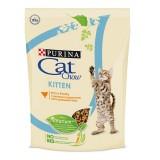 Cat Chow Kitten, Кэт Чау корм для котят с курицей, уп.400гр.