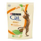 Cat Chow Adult Chicken, Кэт Чау корм для кошек с курицей, уп.400гр.