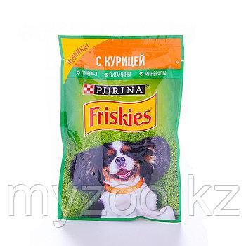 Friskies Фрискис влажный корм для собак с курицей, 85гр x 24 шт