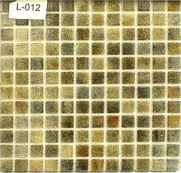 Перламутровая мозаичная плитка коричневый