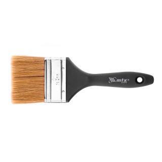 """Кисть  плоская, натуральная щетина, деревянная ручка 3"""" 75 мм"""