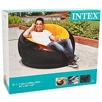 Надувное кресло Intex 68582 Желтый (Габариты: 112 х 109 х 69 см), фото 3