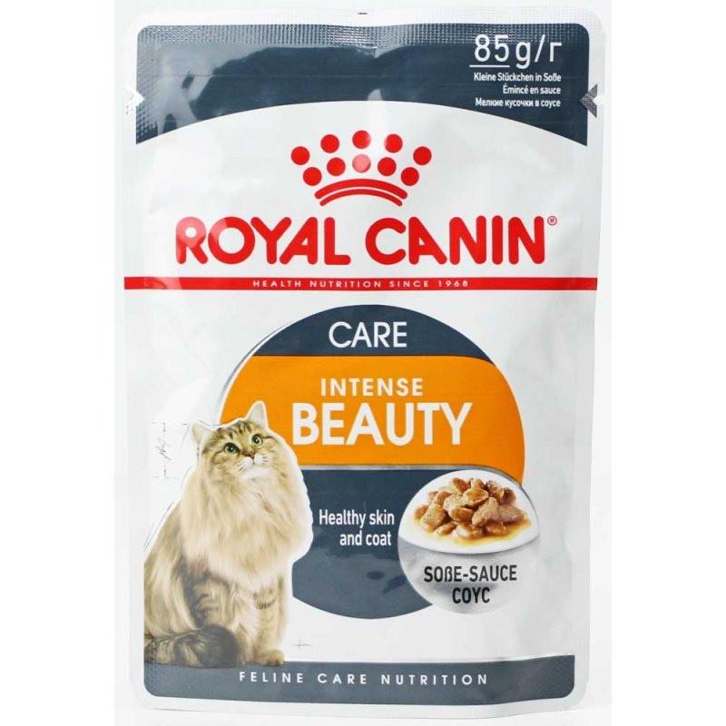 Влажный корм для кошек Роял Канин для кожи и шерсти