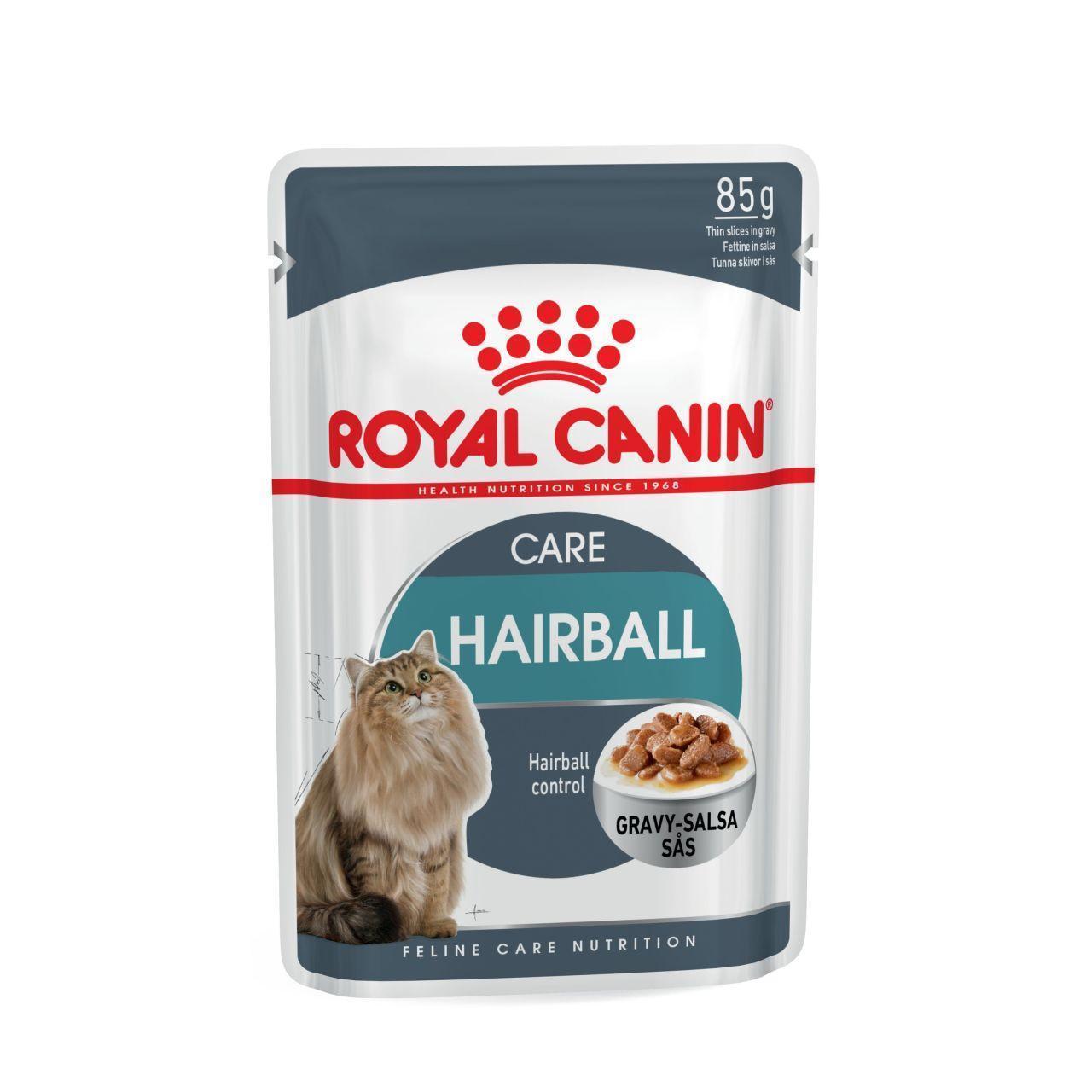 Влажный корм для кошек Роял Канин Hairball Care