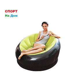 Надувное кресло Intex 68582 Зеленый (Габариты: 112 х 109 х 69 см)