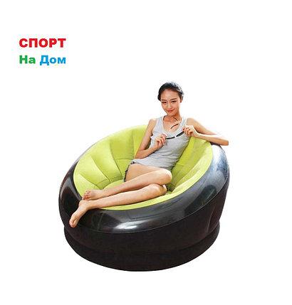 Надувное кресло Intex 68582 Зеленый (Габариты: 112 х 109 х 69 см), фото 2