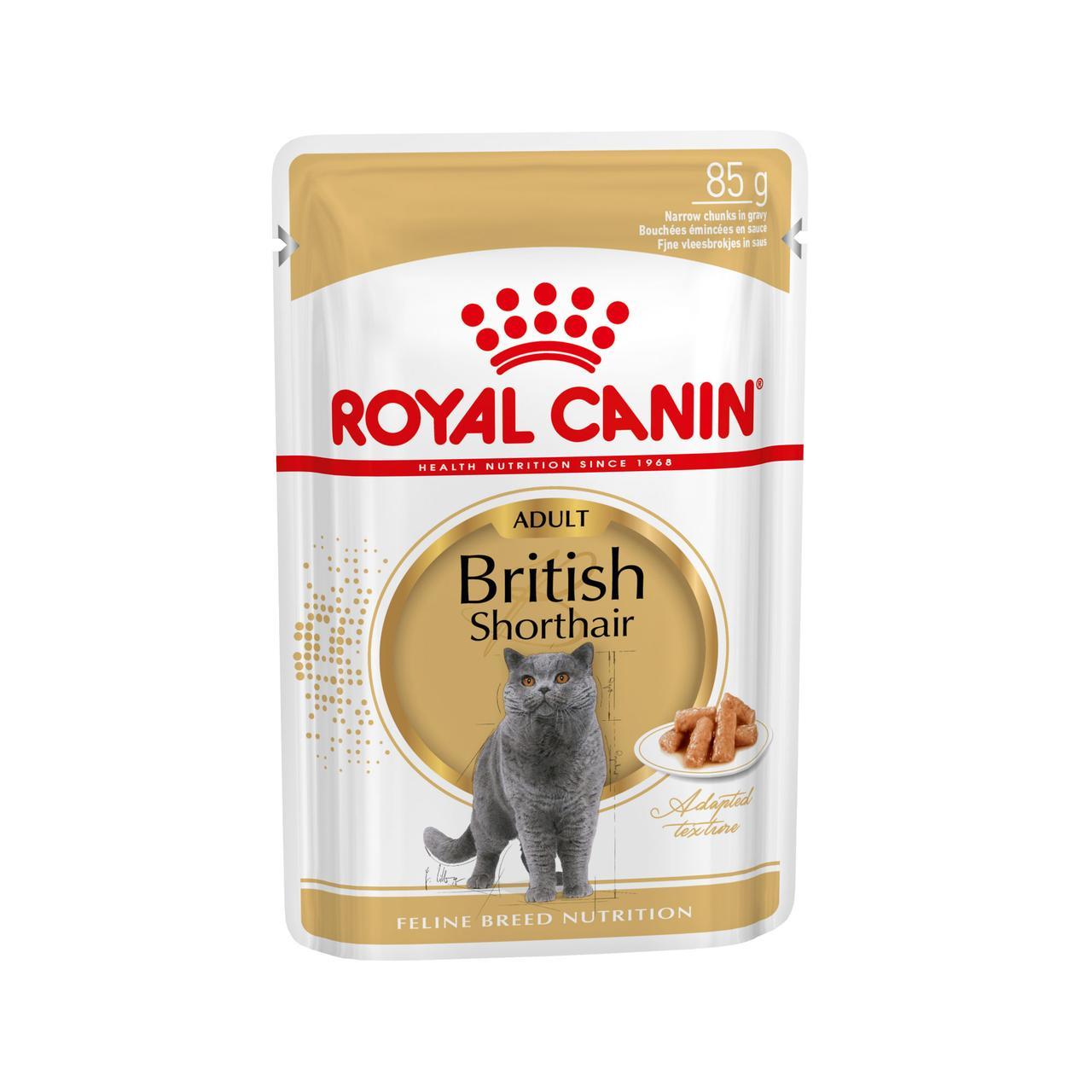 Влажный корм для кошек Роял Канин для британцев