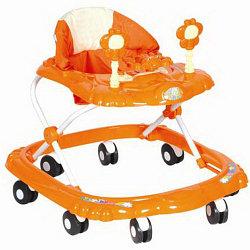 BAMBOLA Ходунки КРАБИК (8 колес,игрушки,муз) 6 шт в кор.(66*56*47) ORANGE оранжевый