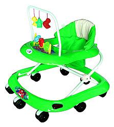BAMBOLA Ходунки СЧИТАЛКА (8 колес,игрушки,муз) 6 шт в кор (62*53*60) GREEN зеленый