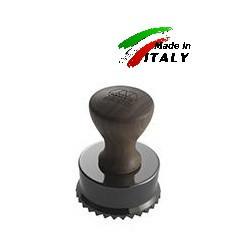 Равиольница штамп - форма для равиоли ravioli stamp round Ø65mm canadian walnut wood