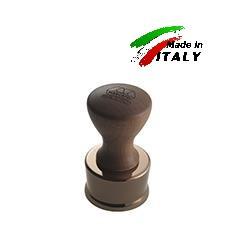 Равиольница штамп - форма для равиоли ravioli stamp smooth round Ø50mm mahogany wood